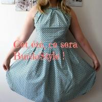 Une jolie robe #BurdaStyle pour cet été!