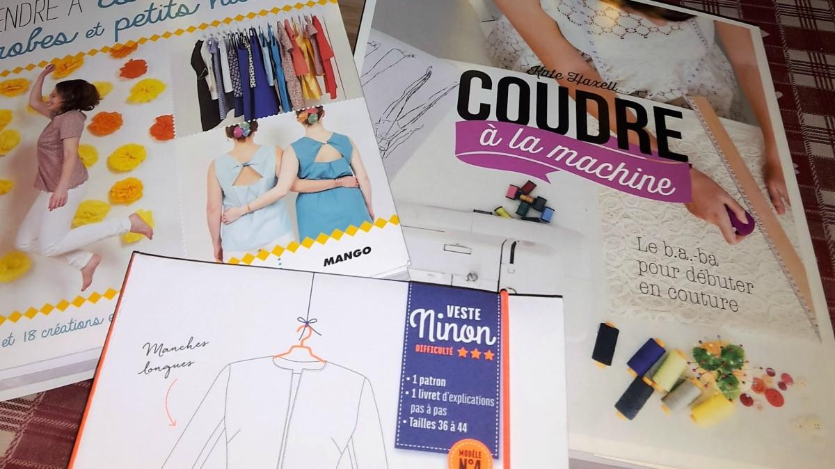 Petit billet sur de jolis livres de couture prometteurs !!!