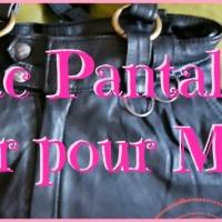 Un sac Pantalon en Cuir pour Moon