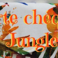 Tuto : porte chéquier Jungle !