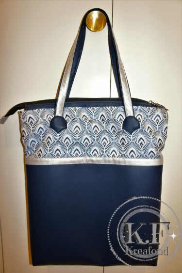 sac Nefertiti bleu
