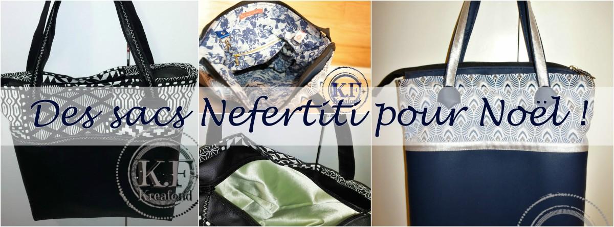 Des sacs Néfertiti pour Noël