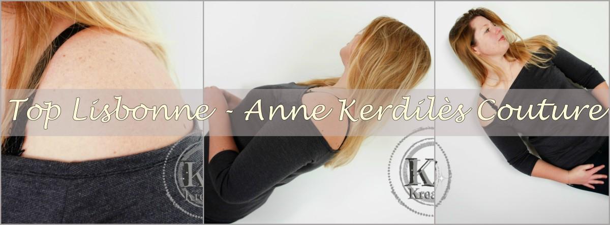 T-shirt Lisbonne, Anne Kerdilès Couture